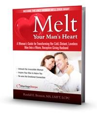 melt your man's heart by randy bennett ebook cover
